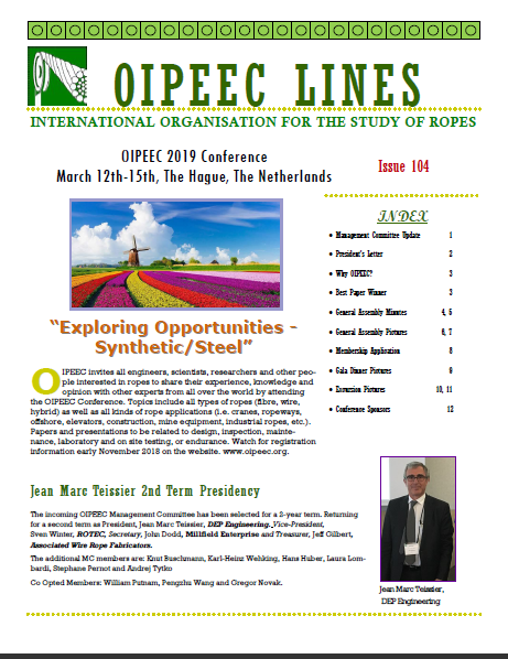 OIPEEC Lines Newsletter October 2018