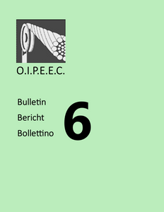 Bulletin 6 - News and Working Groups 1965