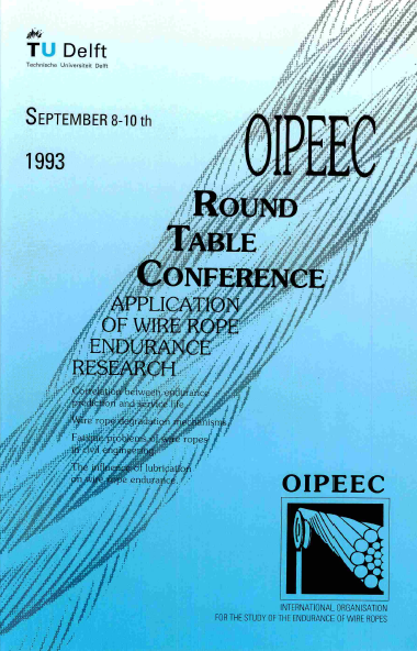 EXPERIMENTAL ANALYSIS and MODELISATION of the STIFFNESS in TORSION of WIRE ROPES.