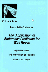 Bending stress on ropes running over roller assemblies
