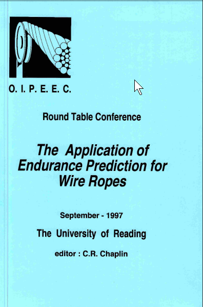 The influence of wire rope fatigue research on crane standards and crane performance
