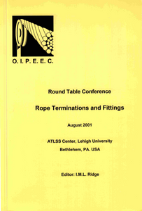Analysis of a resin socket termination for a wire rope