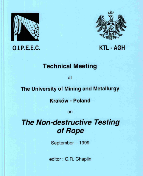 Non-Destructive testing of ropes  in Russia and NIC