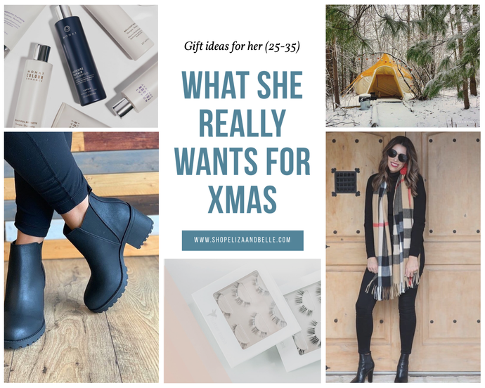 What She Really Wants For Xmas - Gift Guide -