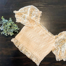 """Dainty & Darlin"" Lace Top"