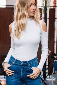"""Cold Shoulder Cutie"" Top"