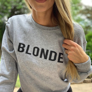 """Blonde"" Pullover"