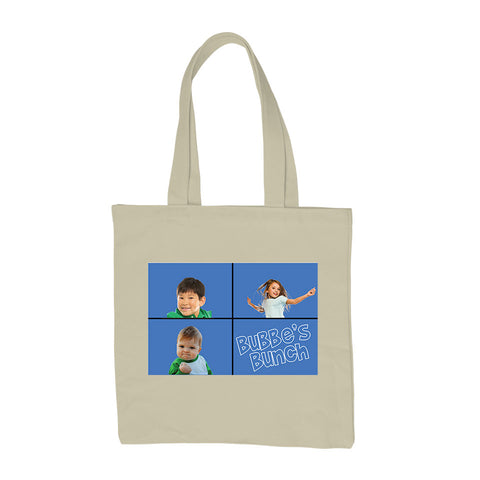 Grandmother Tote Bag Mother's Day Custom T-Shirt