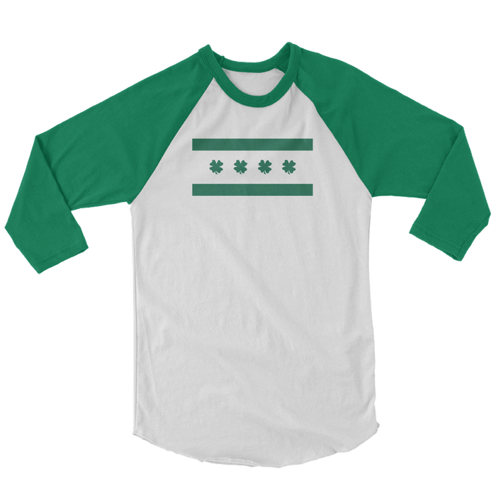 Chicago Irish Flag St. Patrick's Day The T-Shirt Deli, Co. SMALL