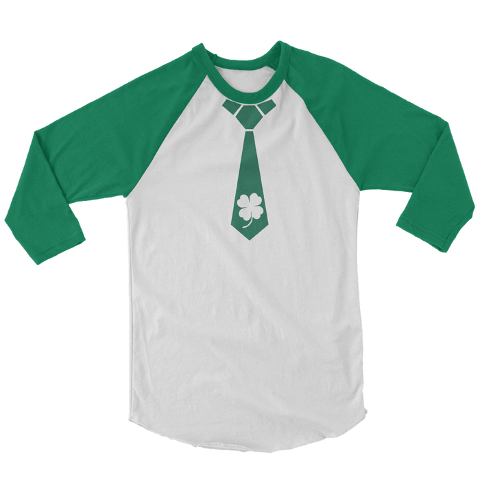 Shamrock Tie St. Patrick's Day The T-Shirt Deli, Co. SMALL