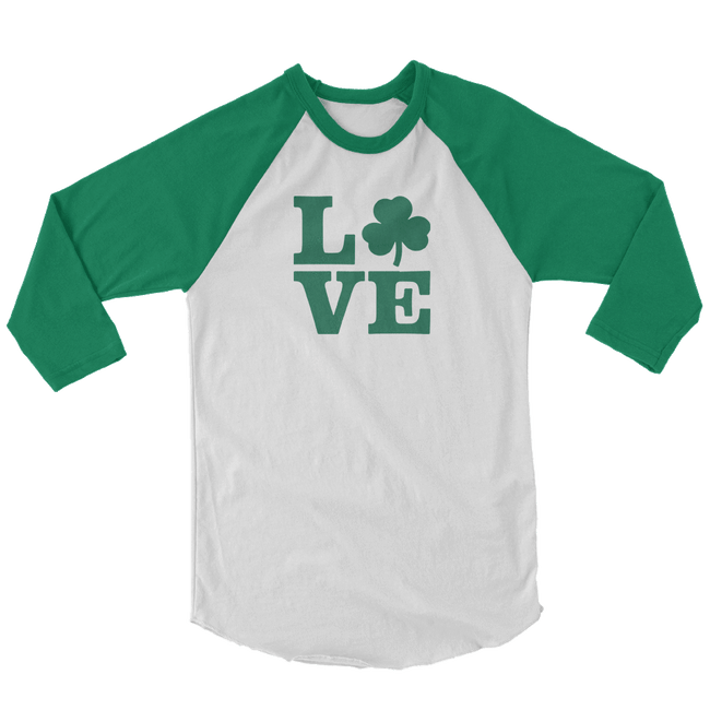 Love Shamrock St. Patrick's Day The T-Shirt Deli, Co. SMALL