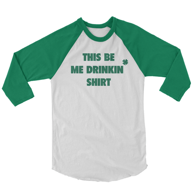 This Be My Drinkin' Shirt St. Patrick's Day The T-Shirt Deli, Co. 2 EXTRA LARGE