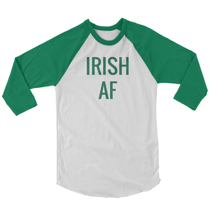 IRISH AF St. Patrick's Day The T-Shirt Deli, Co. EXTRA SMALL