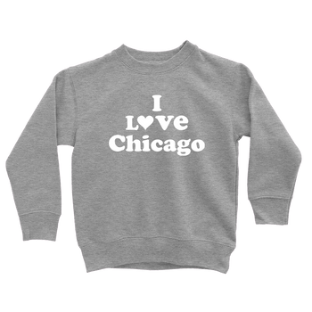 Kids I Love Chicago Kids Pullover The T-Shirt Deli, Co. 2T
