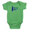 Grass Green Onesie with Royal Blue Willis Tower Design