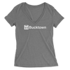 Womens Bucktown El Womens V-Neck The T-Shirt Deli, Co. MEDIUM