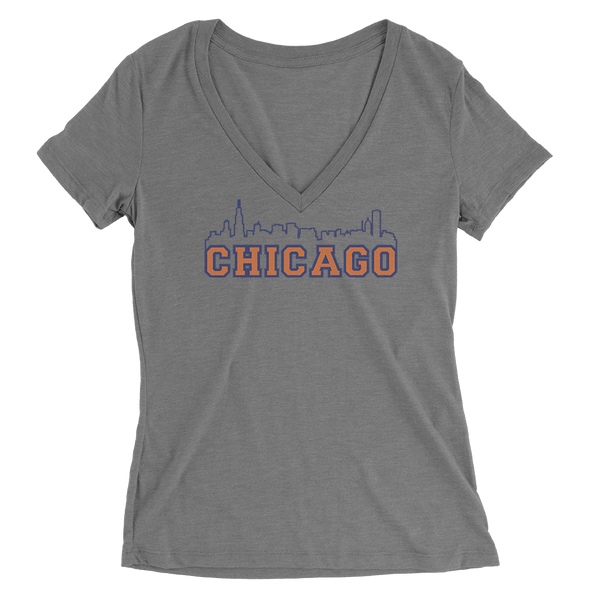 Womens Chicago Skyline