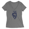 Womens IL Bears Womens V-Neck The T-Shirt Deli, Co. SMALL