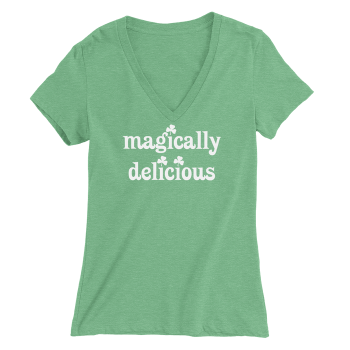 Magically Delicious St. Patrick's Day The T-Shirt Deli, Co. LARGE