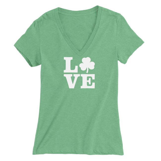 Love Shamrock St. Patrick's Day The T-Shirt Deli, Co. MEDIUM
