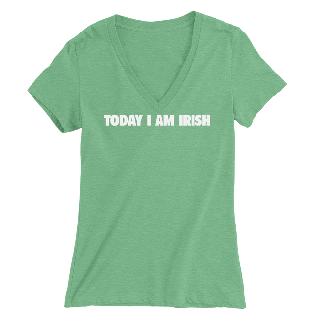 Today I Am Irish St. Patrick's Day The T-Shirt Deli, Co. MEDIUM
