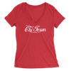 Womens Enjoy Chi-Town Womens V-Neck The T-Shirt Deli, Co. SMALL