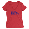 Womens Humboldt Park Womens V-Neck The T-Shirt Deli, Co. SMALL