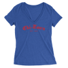 Womens Chi-Town Womens V-Neck The T-Shirt Deli, Co. SMALL
