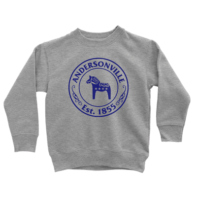 Kids Andersonville Est. 1855 Kids Pullover The T-Shirt Deli, Co. 2T