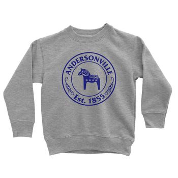 Youth Andersonville Est. 1855 Youth Pullover The T-Shirt Deli, Co. Heather Grey 8