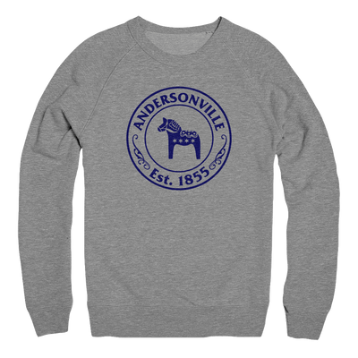 Mens/Unisex Andersonville Est. 1855 Mens Pullover The T-Shirt Deli, Co. EXTRA SMALL