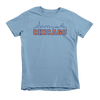 Kids Chicago Skyline Kids Crew The T-Shirt Deli, Co. 6T