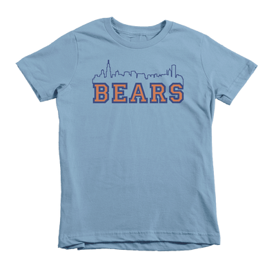Kids Bears Skyline Kids Crew The T-Shirt Deli, Co. 6T