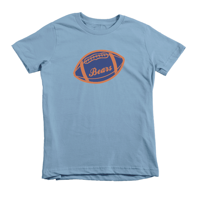 Kids Bears Football Kids Crew The T-Shirt Deli, Co. 6T