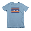 Kids Chicago Bears Flag Kids Crew The T-Shirt Deli, Co. 6T