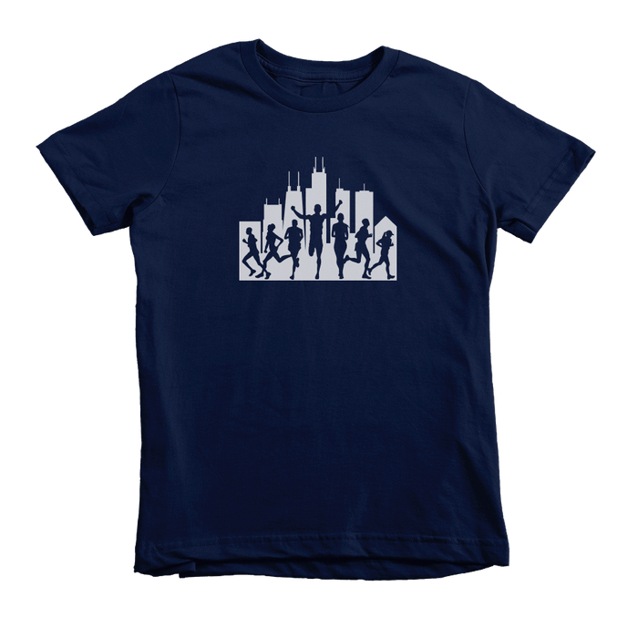 Kids Chicago Runners Kids Crew The T-Shirt Deli, Co. 4T