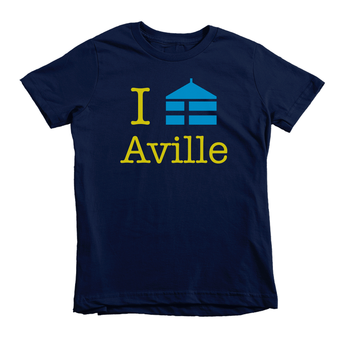 Kids Aville Kids Crew The T-Shirt Deli, Co. 4T