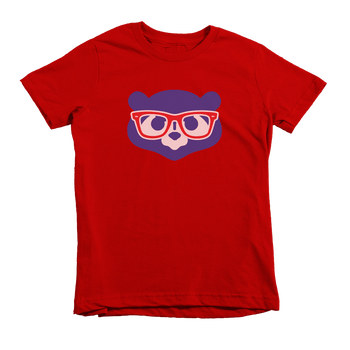 Kids Cub Maddon Face Kids Crew The T-Shirt Deli, Co. 4T