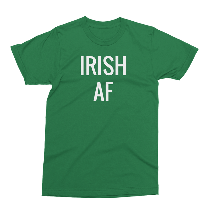 IRISH AF St. Patrick's Day The T-Shirt Deli, Co. SMALL