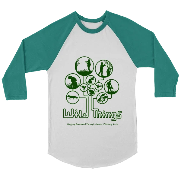 Wild Things Unisex Baseball Jersey