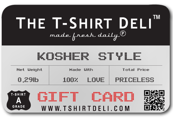 Gift Card Gift Card The T-Shirt Deli, Co. 15.00