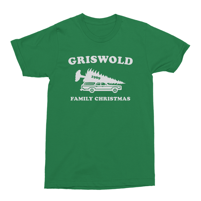 Griswold Christmas Mens Crew The T-Shirt Deli, Co. S