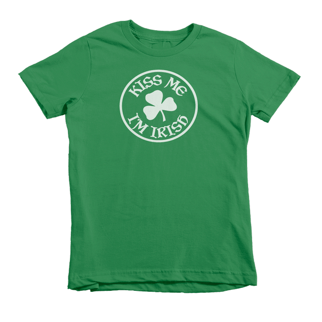 Kiss Me I'm Irish St. Patrick's Day The T-Shirt Deli, Co. Small