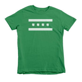 Chicago Irish Flag St. Patrick's Day The T-Shirt Deli, Co. Extra Small