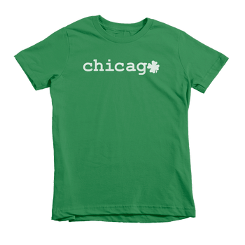 Chicago Shamrock St. Patrick's Day The T-Shirt Deli, Co. Extra Small