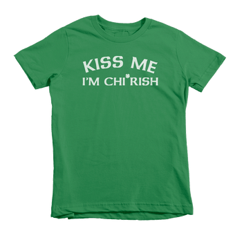 Kiss Me I'm Chi Rish St. Patrick's Day The T-Shirt Deli, Co. Extra Small
