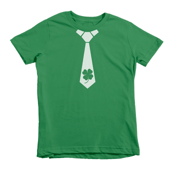 Shamrock Tie St. Patrick's Day The T-Shirt Deli, Co. Extra Small
