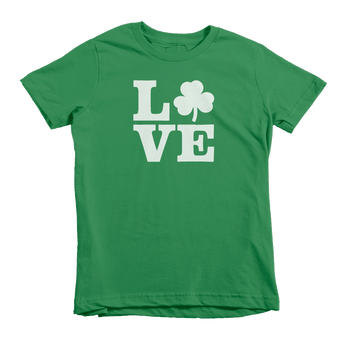 Love Shamrock St. Patrick's Day The T-Shirt Deli, Co. Extra Small