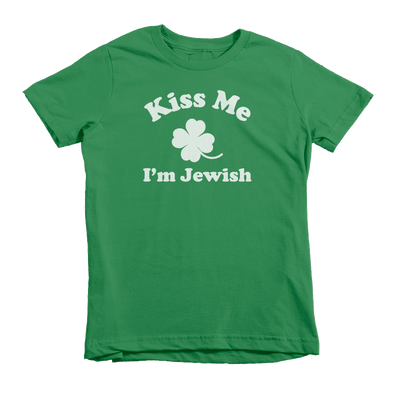 Kiss Me I'm Jewish St. Patrick's Day The T-Shirt Deli, Co. Extra Small