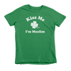 Kiss Me I'm Muslim St. Patrick's Day The T-Shirt Deli, Co. Extra Small